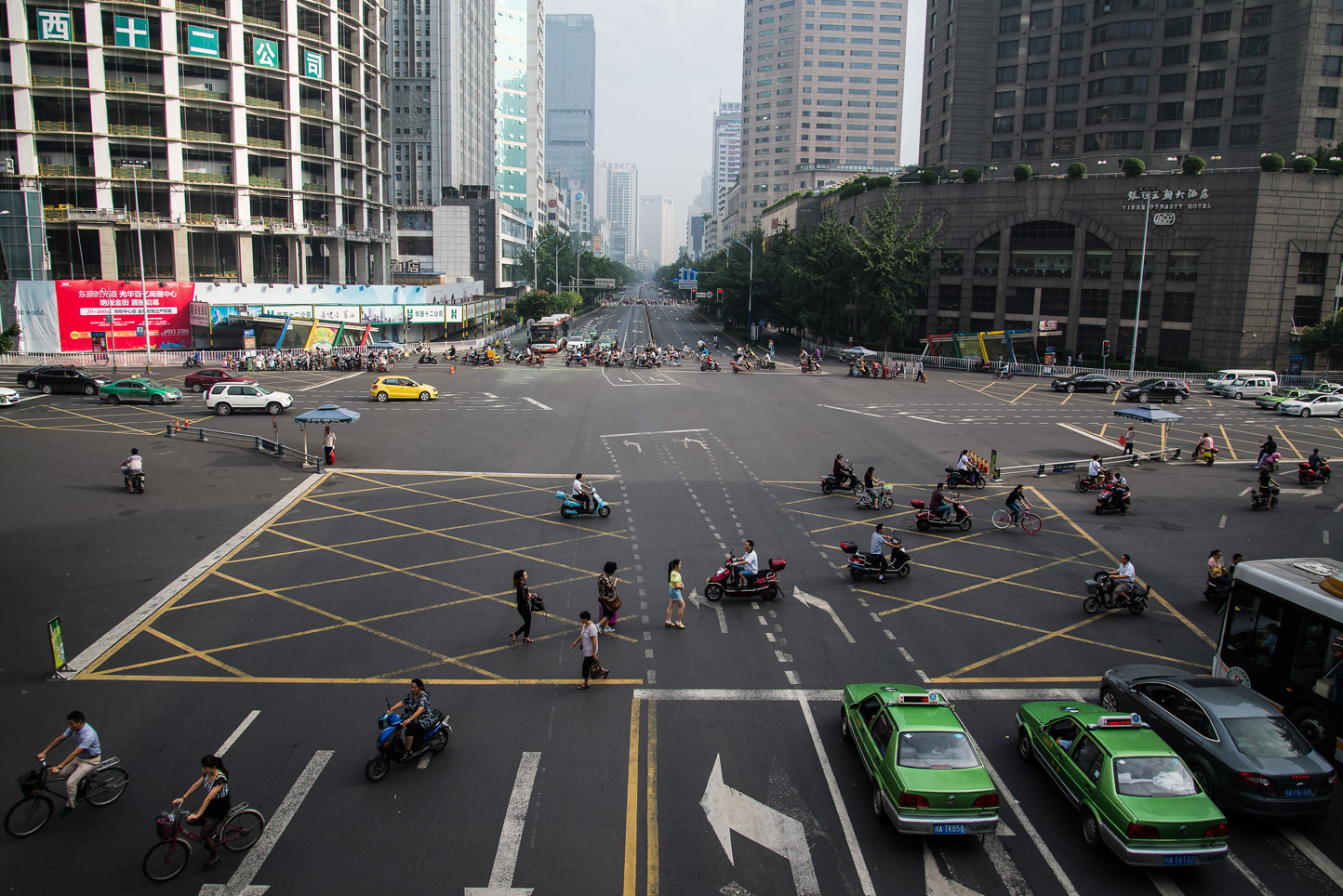 Traffic, Chengdu