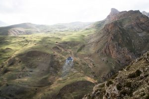 Cacasus mountain range