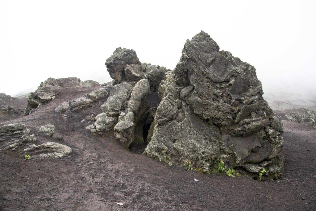 Volcano stones