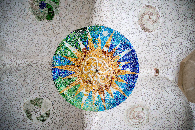Gaudi ceiling