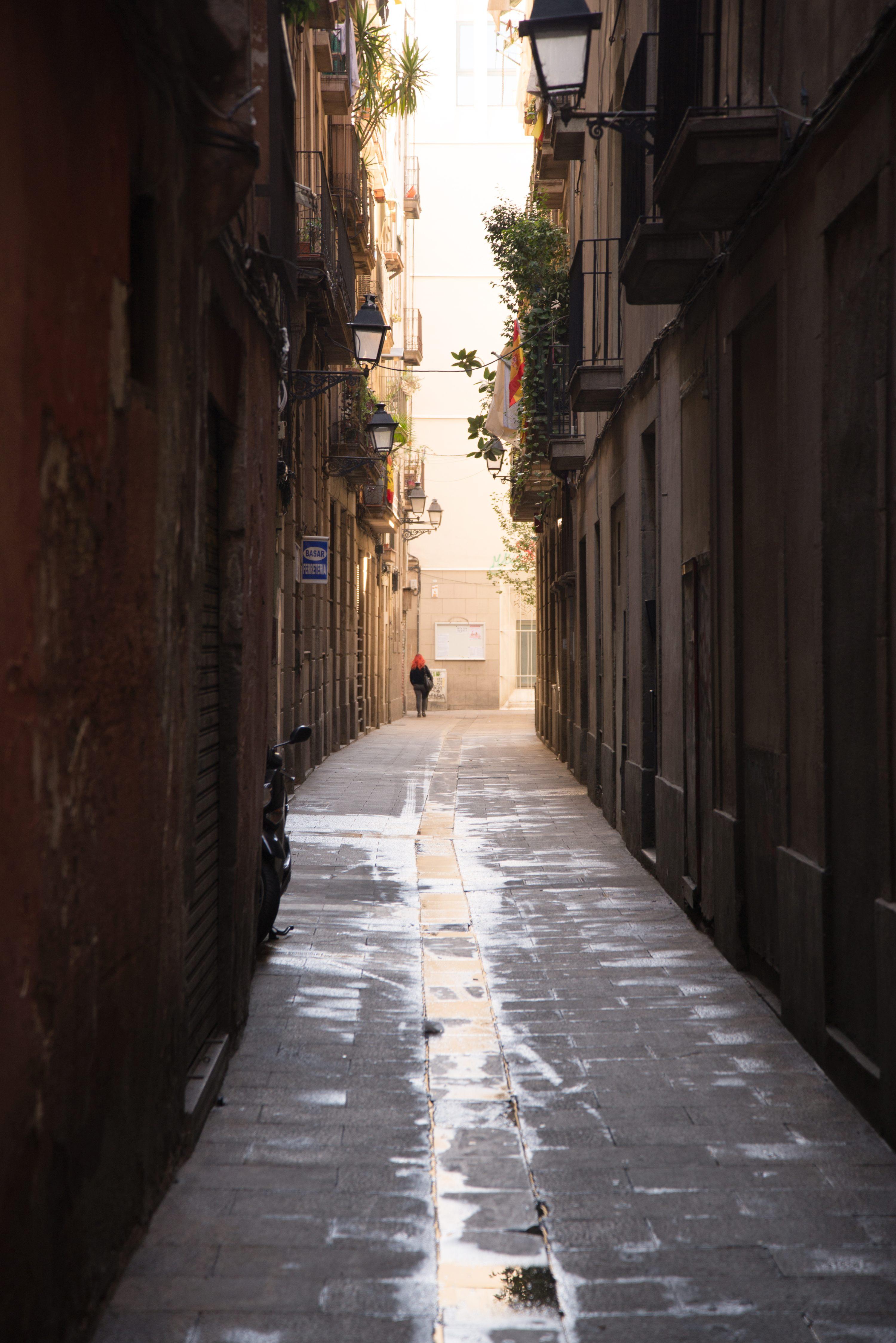 Ghotic quarter, Barcelona