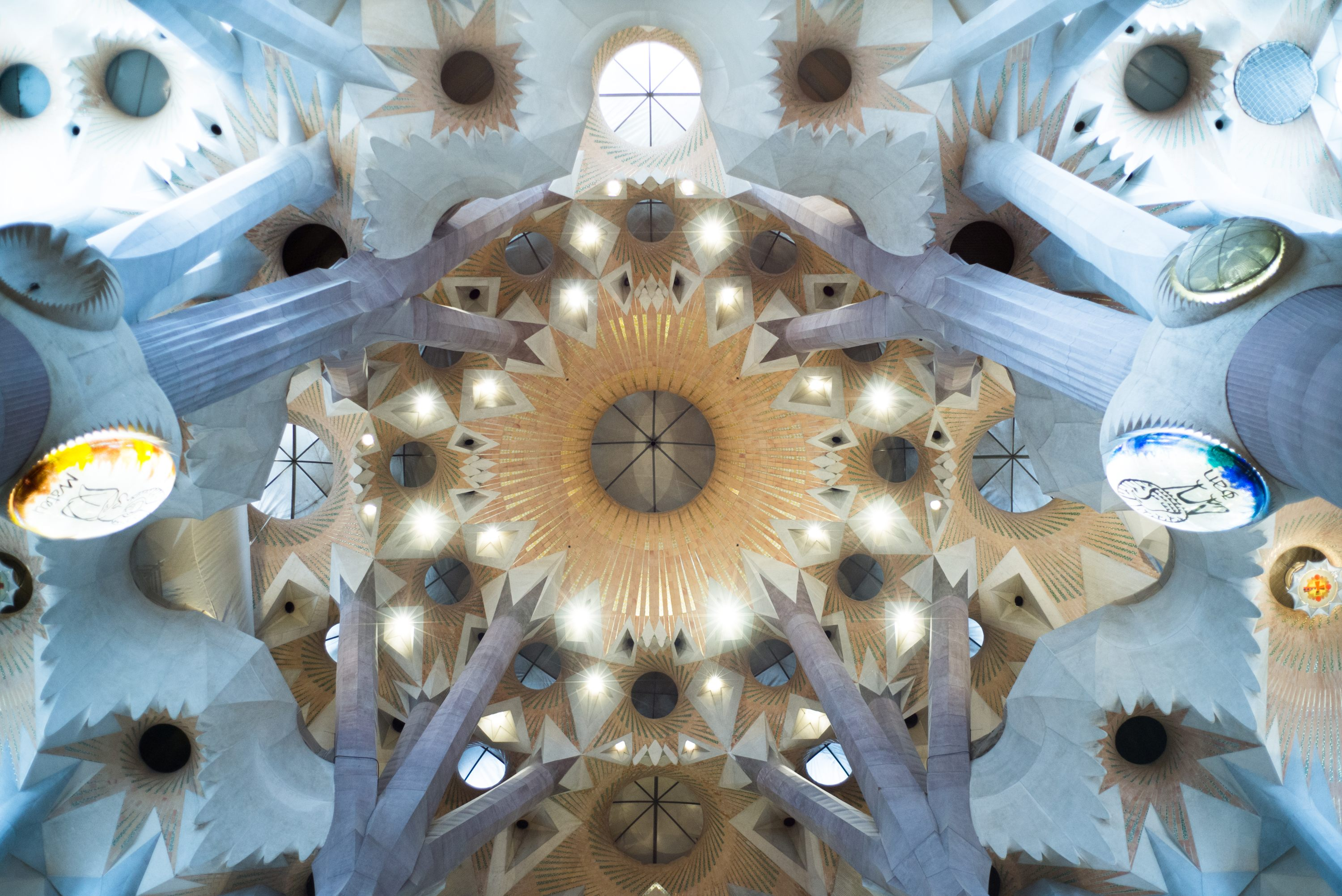 Inside of Sagrada Familia